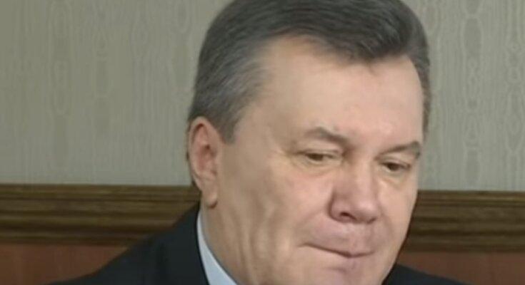 Виктор Янукович. Фото: скриншот Youtube