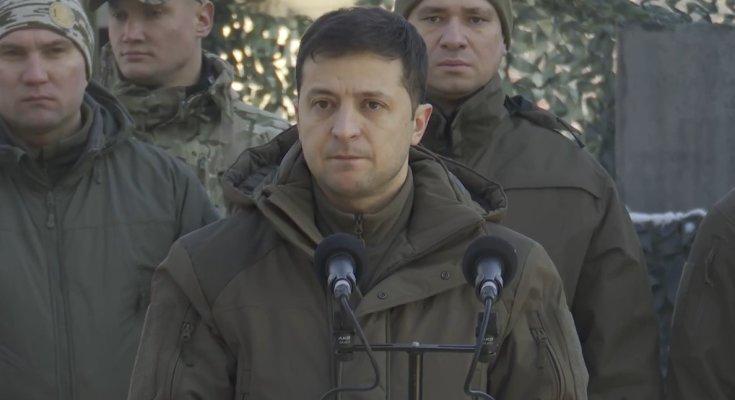 Зеленский. Фото: скриншот видео Офиса Президента