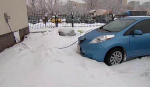 В Украине задумались над производством электрокаров, фото: Скриншот YouTube