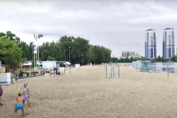 Пляж. Фото: скріншот YouTube-відео.
