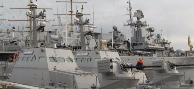 В Украине построят новые военно-морские базы. Фото: YouTube, скрин