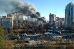 Пожар в Киеве, фото - Информатор