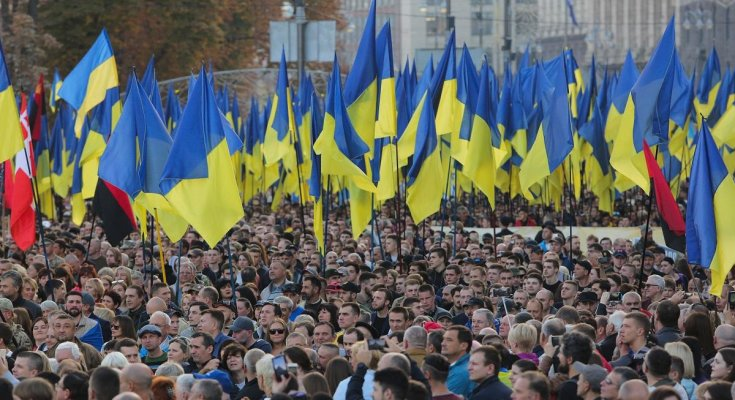 Митинг в Украине, фото - 24 телеканал