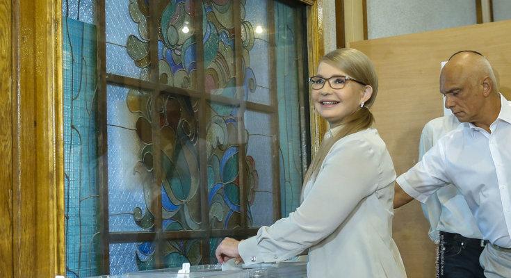 Выборы в парламент: кто из украинских политиков поспешил проголосовать с самого утра. Зеленский, Тимошенко и не только