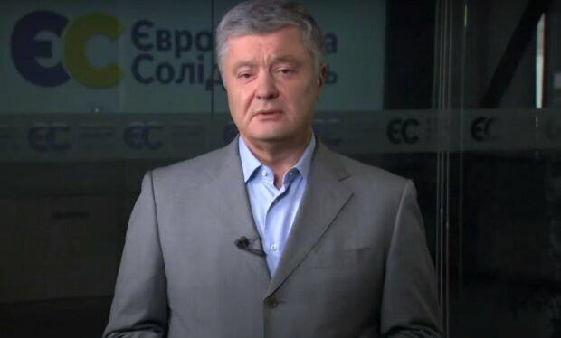 Петр Порошенко. Фото: скриншот YouTube