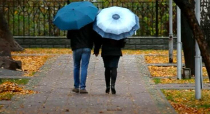 В Украину идет похолодание и дожди. Фото: скриншот YouTube