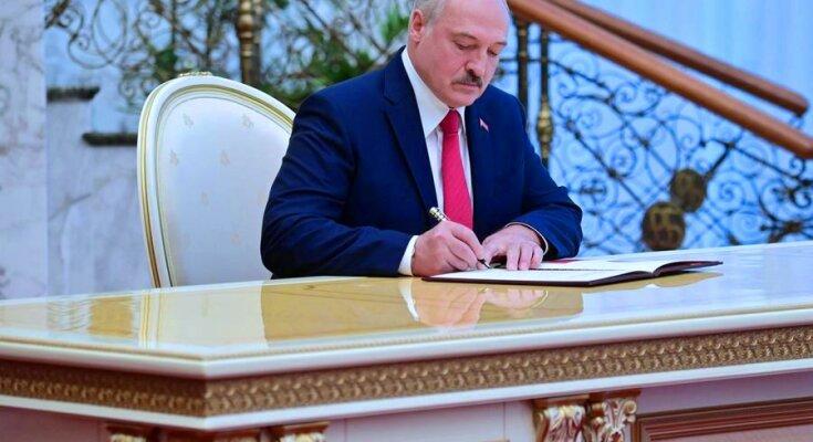 Александр Лукашенко. Фото: скриншот «БелТа»