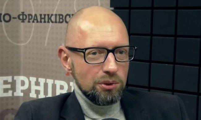 Яценюк. Фото: скрин Радіо НВ