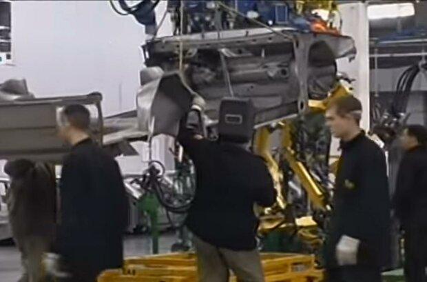 ЗАЗ производство. Фото: скриншот Youtube