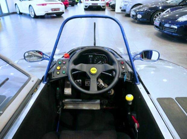 Компактный трёхколесный спорткар BMW. Фото: topgir.com.ua