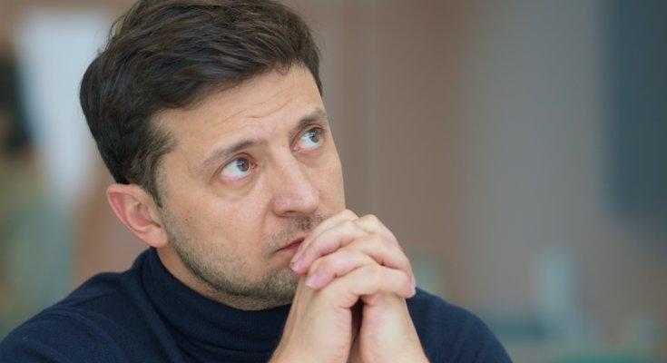 Владимир Зеленский, фото - ICTV