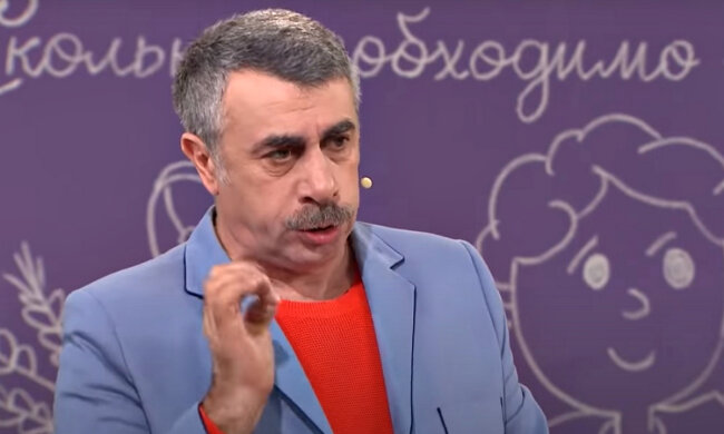 Евгений Комаровский. Фото: скриншот YouTube-видео.