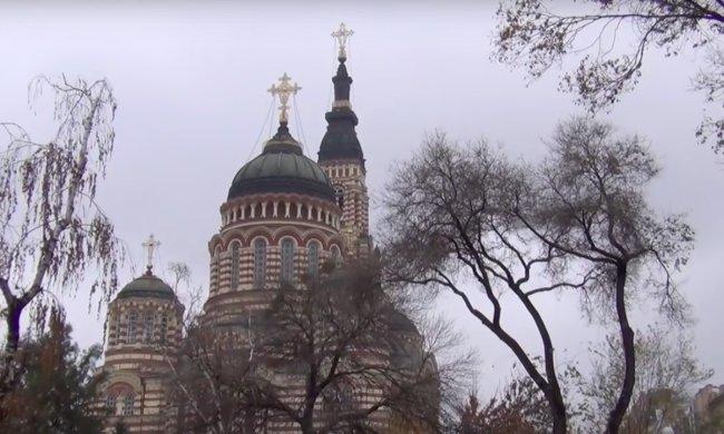 Церковь Харьков. Фото: скриншот YouTube