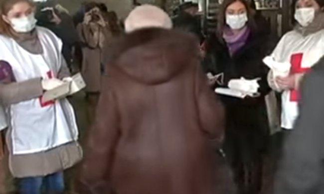 Карантин в Киеве. Фото: скриншот видео