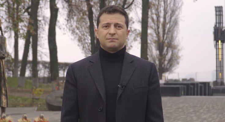 Владимир Зеленский. Фото: скриншот Facebook-видео