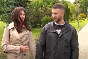 Михаил Заливако и Анна Богдан. Фото: скриншот YouTube-видео