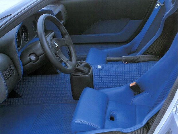Суперкар Brabus Bugatti EB110 SS. Фото: topgir.com.ua