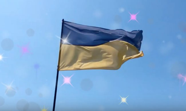 Государственный флаг Украины. Фото: скриншот YouTube