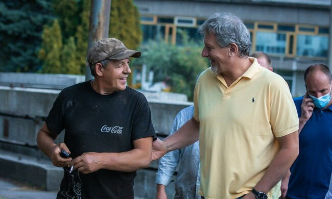 Андрей Пальчевский встретился с работниками Броварского завода строительных конструкций