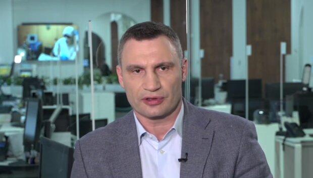 Виталий Кличко. Фото: скриншот YouTube