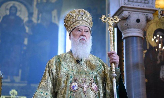 Филарет обратился к Зеленскому: «Церковь и я, Патриарх, готовы помочь вам»