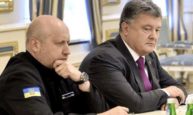 Петр Порошенко и Александр Турчинов. Фото: pravda.com
