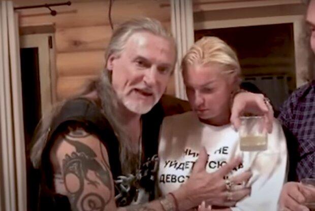 Джигурда и Волочкова в бане. Фото: скриншот YouTube