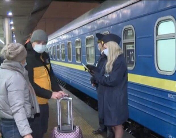 Поезд. Фото: скриншот YouTube-видео