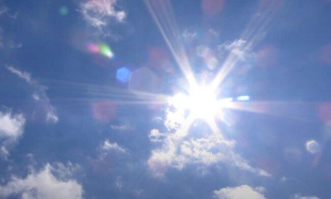Солнце. Фото: YouTube, скрин