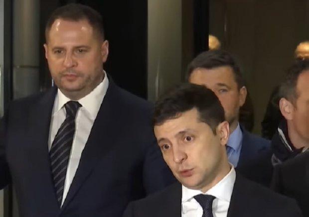 Андрей Ермак и Владимир Зеленский - нынешний президент Украины.