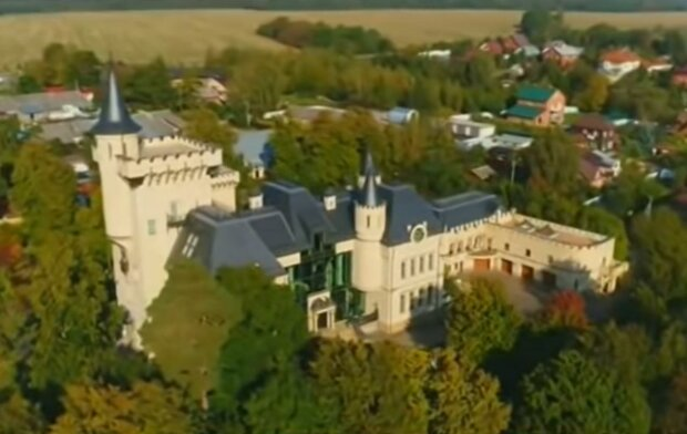 Замок Галкина и Пугачёвой. Фото: скрин youtube