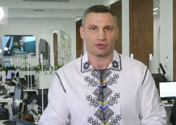 Виталий Кличко. Фото: скрин youtube