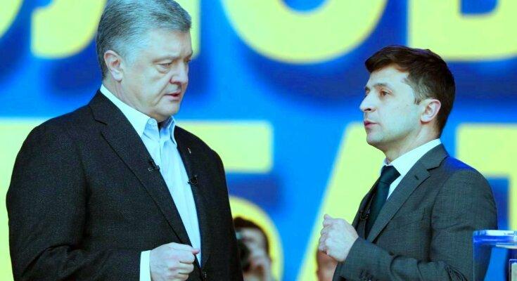 Зеленский и Порошенко. Фото: Фокус