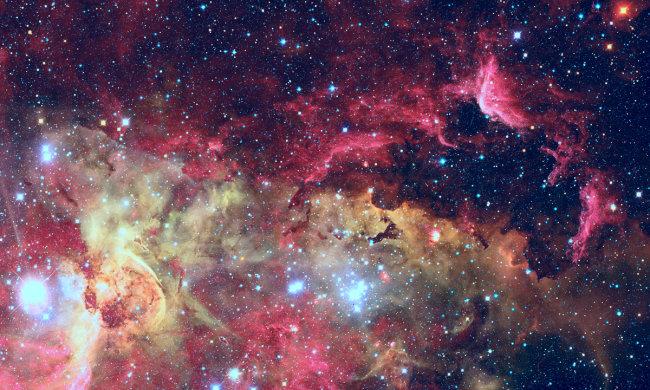 В NASA показали красочные кадры космоса