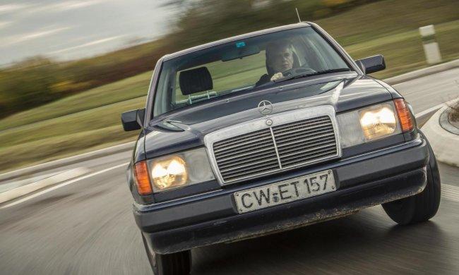 В сети показали самый унылый тюнинг легендарного Mercedes