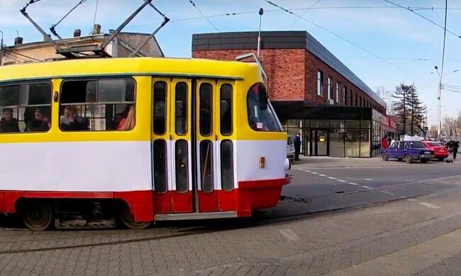 Одесса трамвай 12. Фото: скриншот YouTube