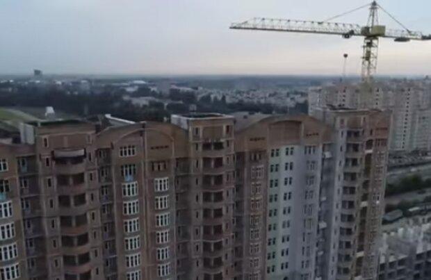 Строительство дома. Фото: скриншот YouTube-видео
