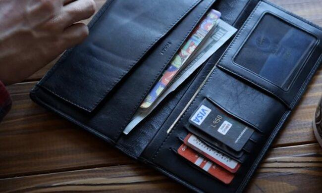 Кошелек с деньгами. Фото: скриншот YouTube-видео
