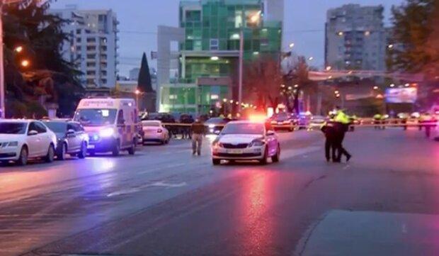 Освобождение заложников в Грузии. Фото: скриншот Youtube-видео