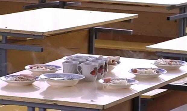 Питание в школе. Фото: скриншот YouTube-видео