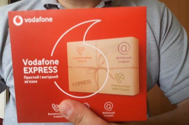 Стартовый пакет Vodafone. Фото: скриншот YouTube-видео