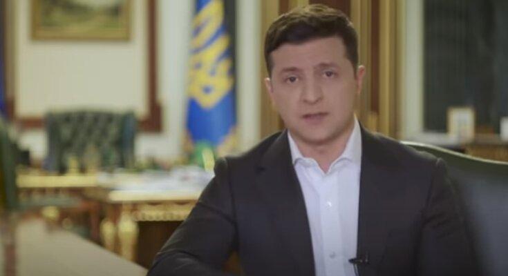 Обращение Владимира Зеленского по случаю праздника. Фото: скриншот YouTube