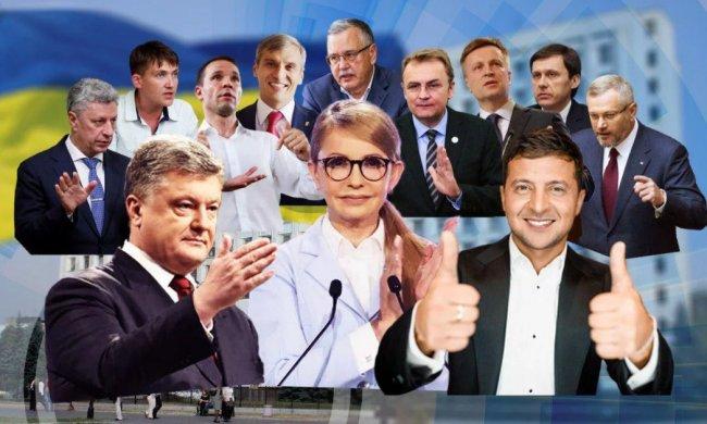 Выборы 2019: Финальный опрос — Зеленский проходин, Порошенко и Тимошенко на равных