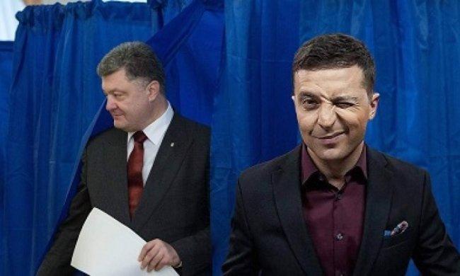Выборы 2019: Во второй тур выйдут Зеленский и Порошенко