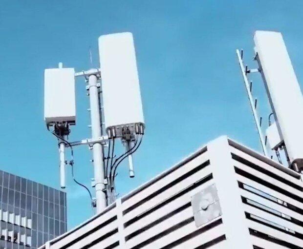 Вышка сотовой связи. Фото: скриншот Youtube