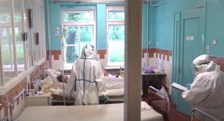 Статистика заболеваемости COVID-19 в Украине. Фото: скриншот YouTube