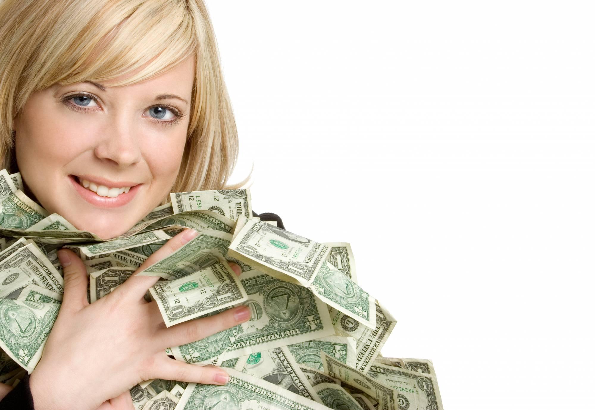 Чешская девушка заработала денег