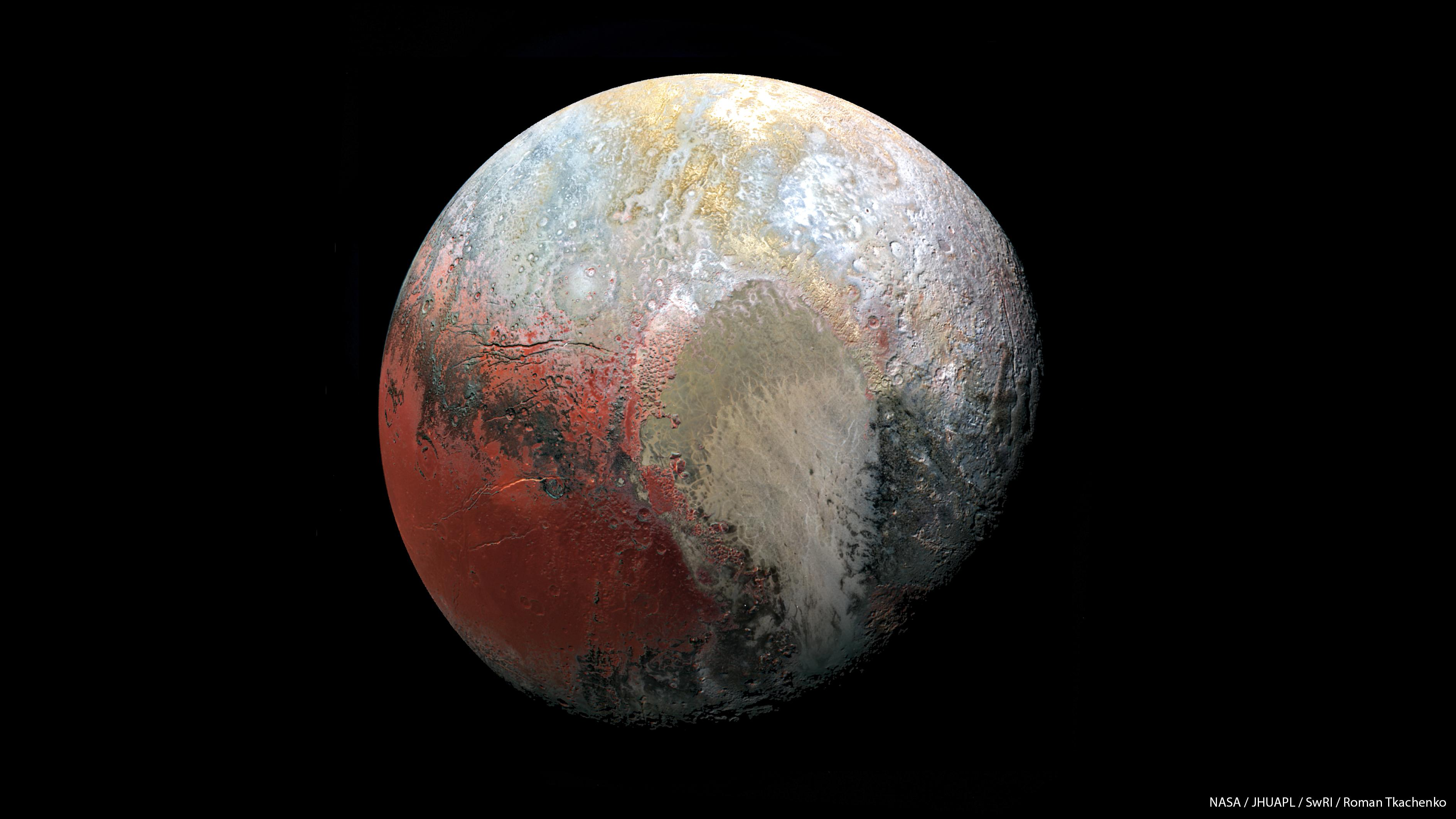 pluto planet images - HD 3776×2124