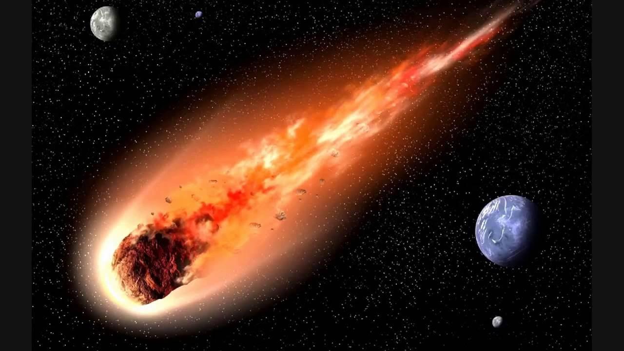 nasa comet collision - 1280×720